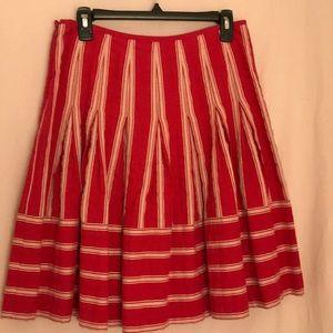 Talbots Petite Pink Cotton Blend Skirt Size 6P
